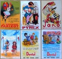 Lot De 6 CPM Publicitaires De POULBOT (reproductions) Voir Scan Du Verso - Poulbot, F.