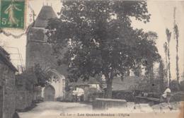 LES QUATRES-ROUTES (Lot): L'Eglise - Andere Gemeenten