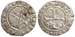 FRANCE MÉDIÉVALE - Charles VIII [1483-1498] - Liard Au Dauphin - Toulouse (point 5e) (2e émission, Duplessy 600A, 1,13 G - 987-1789 Monnaies Royales