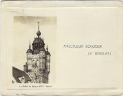 59 Bergues  Affectueux Bonjour Le Beffroi - Bergues