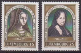 Europa - LUXEMBOURG - Femmes Célèbres: Marie De Bourgogne, Marie Thérèse D'Autriche - N°1340-1341 ** - 1996 - Luxembourg