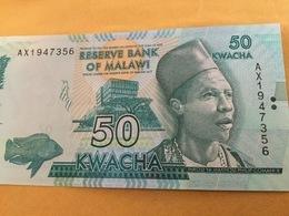 MALAWI P64b 50 Kwacha 1.1.2015 #AX UNC. - Malawi
