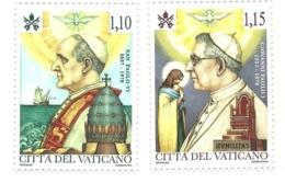 2018 - Vaticano 1802/03 Paolo VI E Giovanni Paolo I - Celebrità