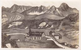 St. Christoph Am Arlberg * Strasse, Teilansicht, Tirol, Alpen * Österreich * AK1762 - Landeck