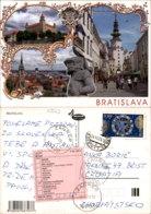 BRATISLAVA,SLOVAKIA POSTCARD - Slowakei