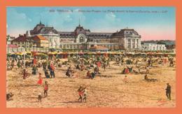 A700 / 255 14 - TROUVILLE Plage Devant Le Casino - Trouville
