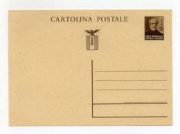 Italia - 1944/45 - Repubblica Sociale - Cartolina Postale Da 30 Centesimi - Non Viaggiata - (FDC18153) - 4. 1944-45 Repubblica Sociale