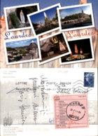 LOURDES,FRANCE POSTCARD - Lourdes