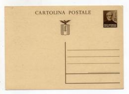 Italia - 1944/45 - Repubblica Sociale - Cartolina Postale Da 30 Centesimi - Non Viaggiata - (FDC18154) - 4. 1944-45 Repubblica Sociale