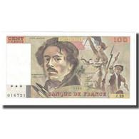 France, 100 Francs, Delacroix, 1980, P. A.Strohl-G.Bouchet-J.J.Tronche, 1980 - 1962-1997 ''Francs''