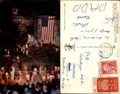 THE SALUTE TO THE FLAG,WISCONSIN POSTCARD - Stati Uniti
