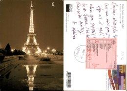 PARIS,FRANCE POSTCARD - Eiffelturm