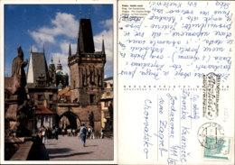 PRAHA,CZECH POSTCARD - Tschechische Republik