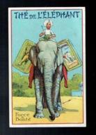 CPA Publicité Thé De L'Eléphant - Force Et Bonté - 1927 - Publicité