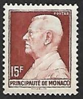 MONACO  1948-49  -  YT  305B -  Louis II - NEUF* - Cote 5.50e - Neufs