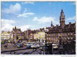 Carte Postale  59. Lille  La Place Du Général De Gaulle Renault 4L - Lille