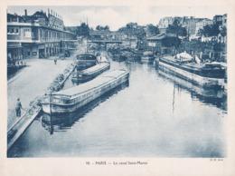 PENICHES, PARIS, Le Canal Saint Martin - Sonstige