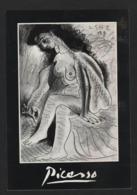 "696 - PABLO PICASSO "" Bethsabée 1963 ""  Femme Aux Seins Nus - Pittura & Quadri"