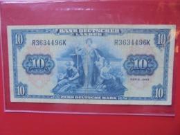 Bank Deutscher Länder : 10 MARK 1949 CIRCULER - 10 Deutsche Mark