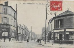 94, Val De Marne, IVRY SUR SEINE, Rue Mirabeau, Scan Recto-verso - Ivry Sur Seine