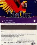 TARJETA DE CASINO - CASINO CARD. ISLEONE CASINO. 011. - Tarjetas De Casino