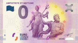 Billet 0 Euro FRANCE  AMHITRITE ET NEPTUNE 2017.1 - Private Proofs / Unofficial