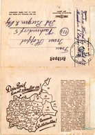 DR 1945, Feldpost Falt Brief V. München M. Post-Leitzahlen Werbung. - Deutschland