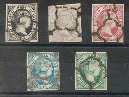 º6/7, 9/11. 1851. Serie Completa (a Falta Del 2 Reales). MAGNIFICA. (el 6 Reales Certifcado COMEX). - Spagna