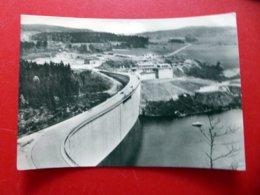 Talsperre Pöhl - Erste Skisprungüberfallmauer Deutschlands - Vogtland - Echt Foto DDR 1964 - Poehl