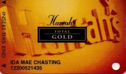 TARJETA DE CASINO - CASINO CARD. TOTAL GOLD, CASINO. 006. - Tarjetas De Casino