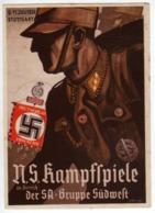Allemagne : Période 33-45 : N.S. Kampfspiele - Cachet Stuttgart - Allemagne