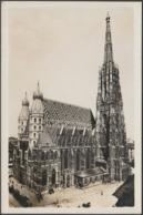 Stefanskirche, Wien, C.1920s - Postiag Foto-AK - Churches