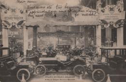 Salon De L'Automobile 1905 Stand Richard-Brasier Avec La Coupe Gordon-Bennet - Voitures De Tourisme
