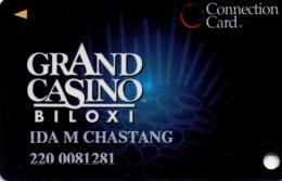 TARJETA DE CASINO - CASINO CARD. GRAND CASINO BILOXI. 008. - Tarjetas De Casino