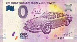 Billet 0 Euro FRANCE De 2018.1 Autos Enjouées - Private Proofs / Unofficial