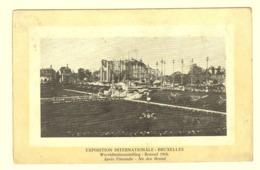 A0233[Postkaart] Exposition Internationale Bruxelles Wereldtentoonstelling - Brussel 1910 Après L'incendie Na De Brand - Expositions Universelles
