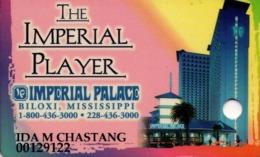 TARJETA DE CASINO - CASINO CARD. IMPERIAL PALACE CASINO BILOXI. 007. - Tarjetas De Casino