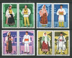 Roumanie ** N° 3762 à 3769 - Costumes Régionaux - Unused Stamps