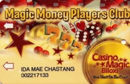 TARJETA DE CASINO - CASINO CARD. CASINO MAGIC - BILOXI. AÑO 2003. 002. - Tarjetas De Casino