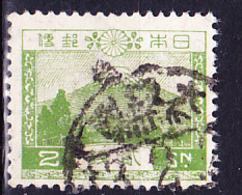 Japan - Fujisan (3778 M) (MiNr: 177 II) 1932 - Gest Used Obl - 1926-89 Emperor Hirohito (Showa Era)