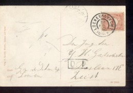 Loenen A D Vecht Grootrond - 1910 - Postal History