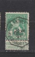 COB 110 Oblitération Centrale Télégraphe ANVERS Bourse - 1912 Pellens