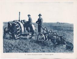 TRACTEUR AGRICOLE, Culture Mécanique En Plaine - Sonstige