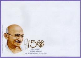 Kazakhstan 2019. 10 FDC. 150 Anniversary Of Mahatma Gandhi. - Mahatma Gandhi