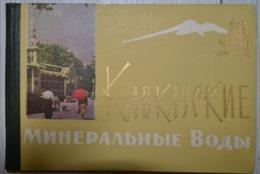 Russia. Caucasian Mineral Waters. 1963 Guide. Pyatigorsk.Yesentuki.Zheleznovodsk - Boeken, Tijdschriften, Stripverhalen