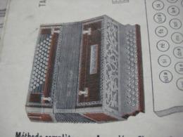 1 Catalogue DEDENIS à BRIVE 1928 Avec Prix Tarif- ACCORDEONS ARMONICHE  Accordions + 1 Buvard HOHNER Verhaeghen - Rouen - Instrumentos De Música