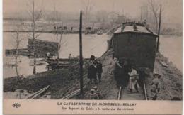49- 90741    -   La Catastrophe De   MONTREUIL - BELLAY -  Recherche Des Victimes - Montreuil Bellay