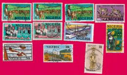 4411  -  NIGERIA - Lot De Timbres Oblitérés - Nigeria (1961-...)
