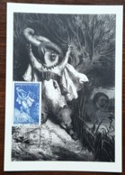 CM 1997 - YT N°3058 - EUROPA / PERRAULT / LE CHAT BOTTE - STRASBOURG - 1990-99