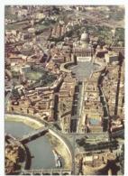 """Roma - """"Veduta Aerea - Basiliica Di  Piazza S.Pietro E Città Del Vaticano"""". - San Pietro"""
